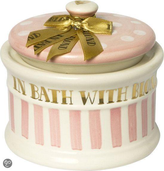 bol.com   Blond Amsterdam roze/goud- pot met deksel-klein   Mooi en ...