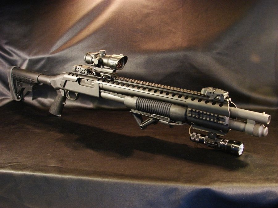 Mossberg COMBO KIT for 500/590/590A1/Maverick 88   Tactical Gear