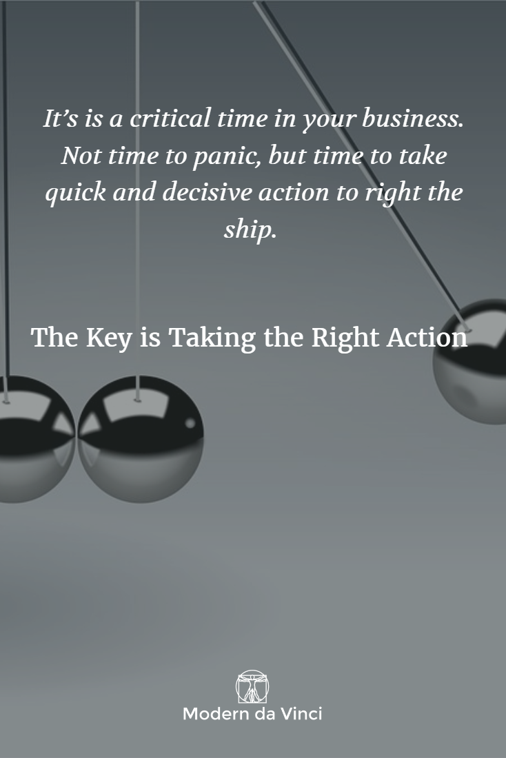 Take action... but make sure it's the right one. Read more: #smallbusiness
