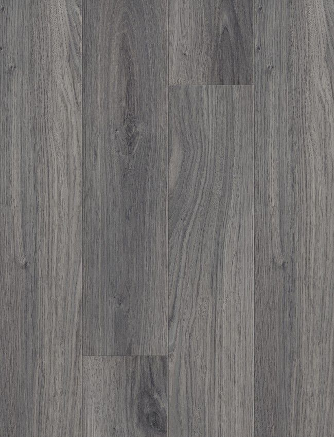Plank 4V Dark Grey Oak Laminate Flooring Wall & Floor