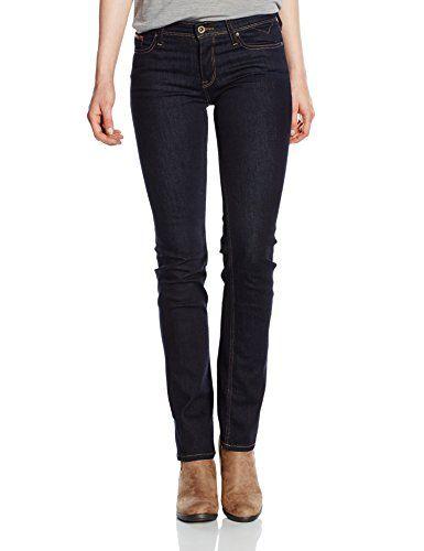 TOMMY HILFIGER DENIM Damen Jeans Mid Rise Straight Sandy