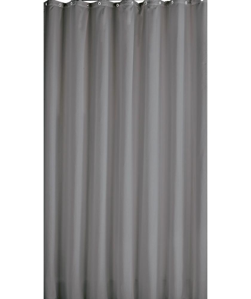 buy colourmatch shower curtain flint grey at argoscouk your online