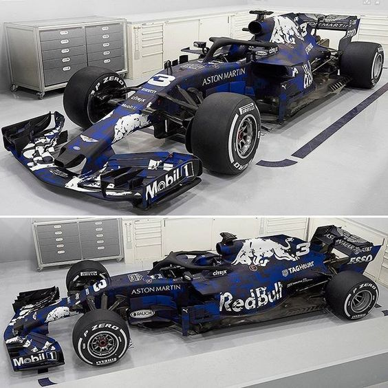 Aston Martin Red Bull Racing Tag Heuer Rb14 2018 Equipe Revelou