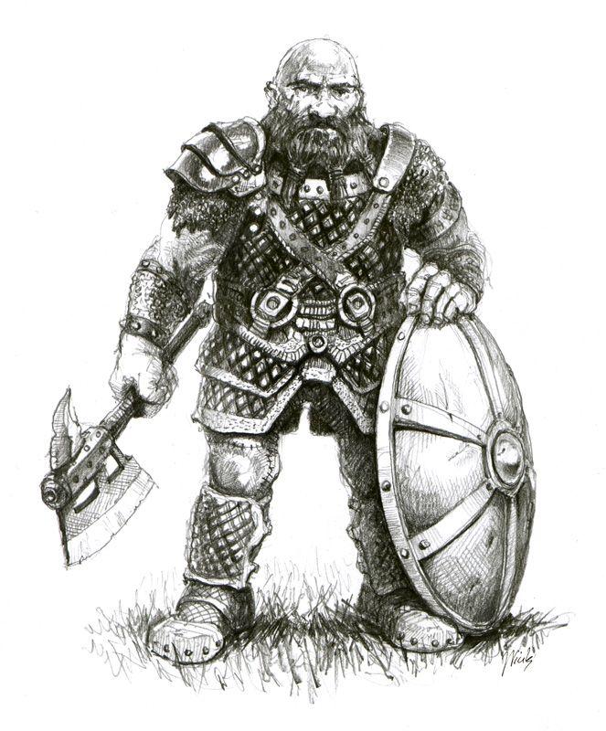 dwarf by ~gabahadatta on deviantART