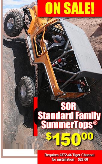 SOR Standard and Family SummerTop® is an FJ40 Bikini Top | toyota