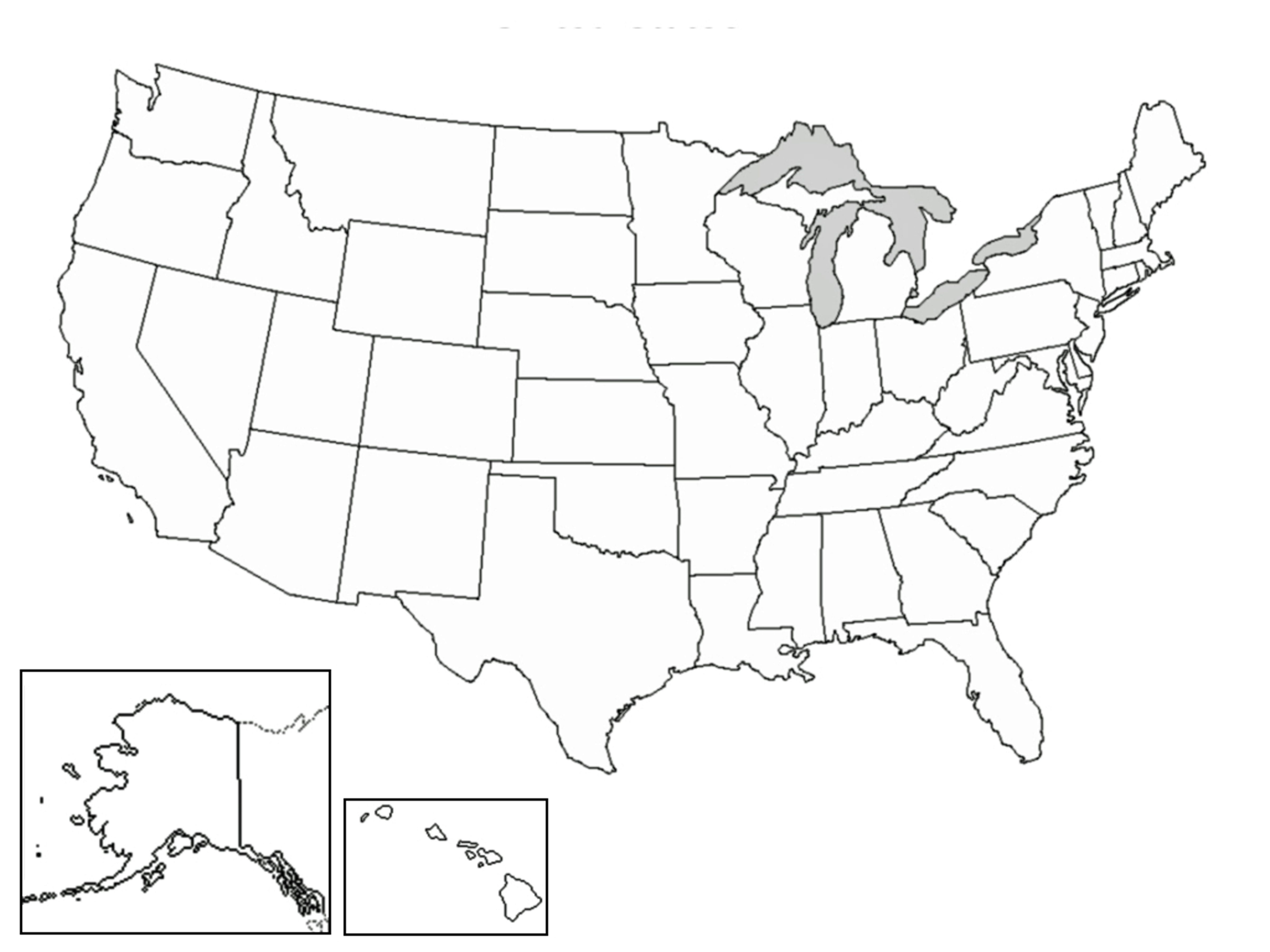 Well Defined Blank Us Map Quiz Printable North Eastern
