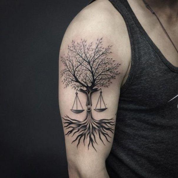 Libra Zodiac Sign Tattoo Libra Tattoo Libra Scale Tattoo Libra Sign Tattoos
