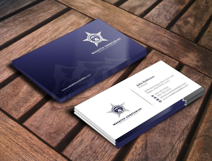 Business Card and Stationary for progressive law enforcement ...