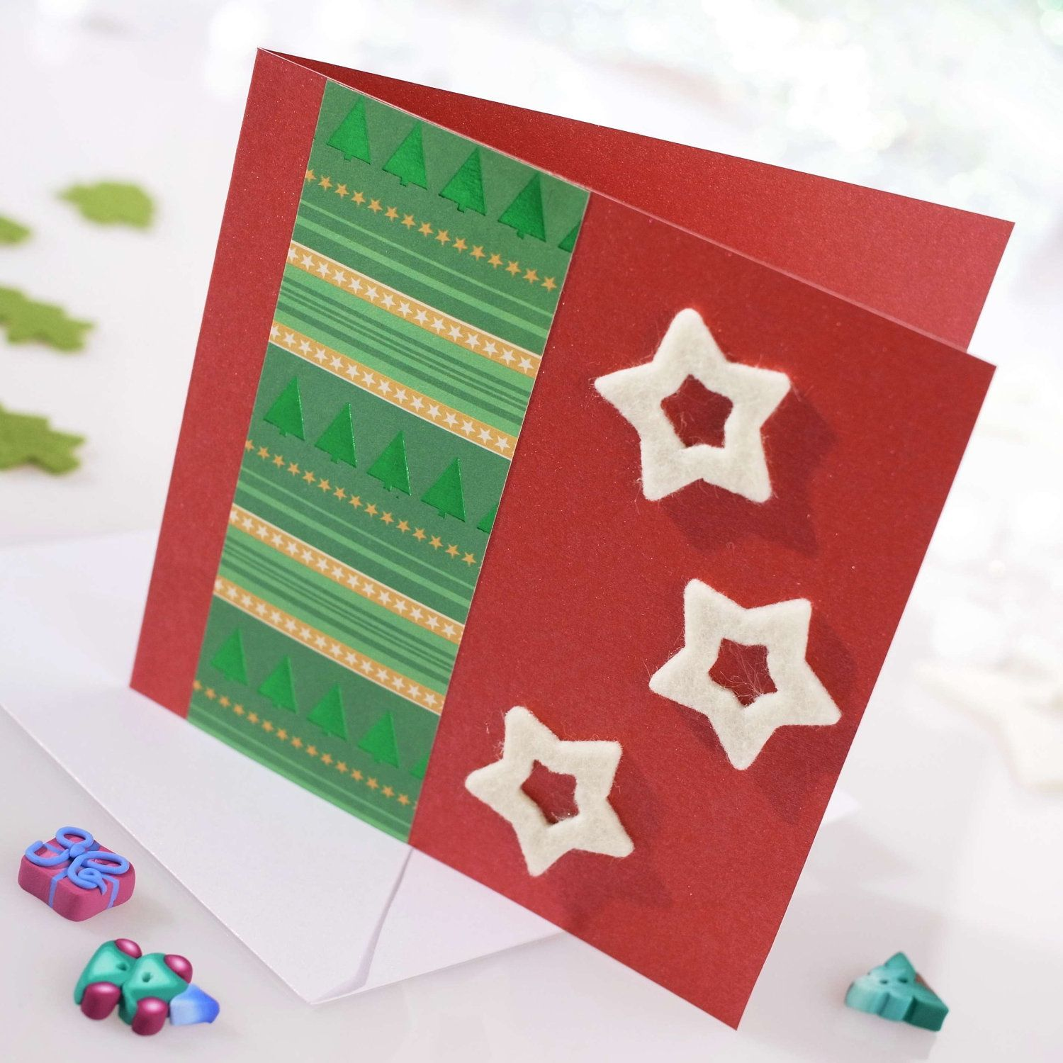 ideas for making christmas cards at home