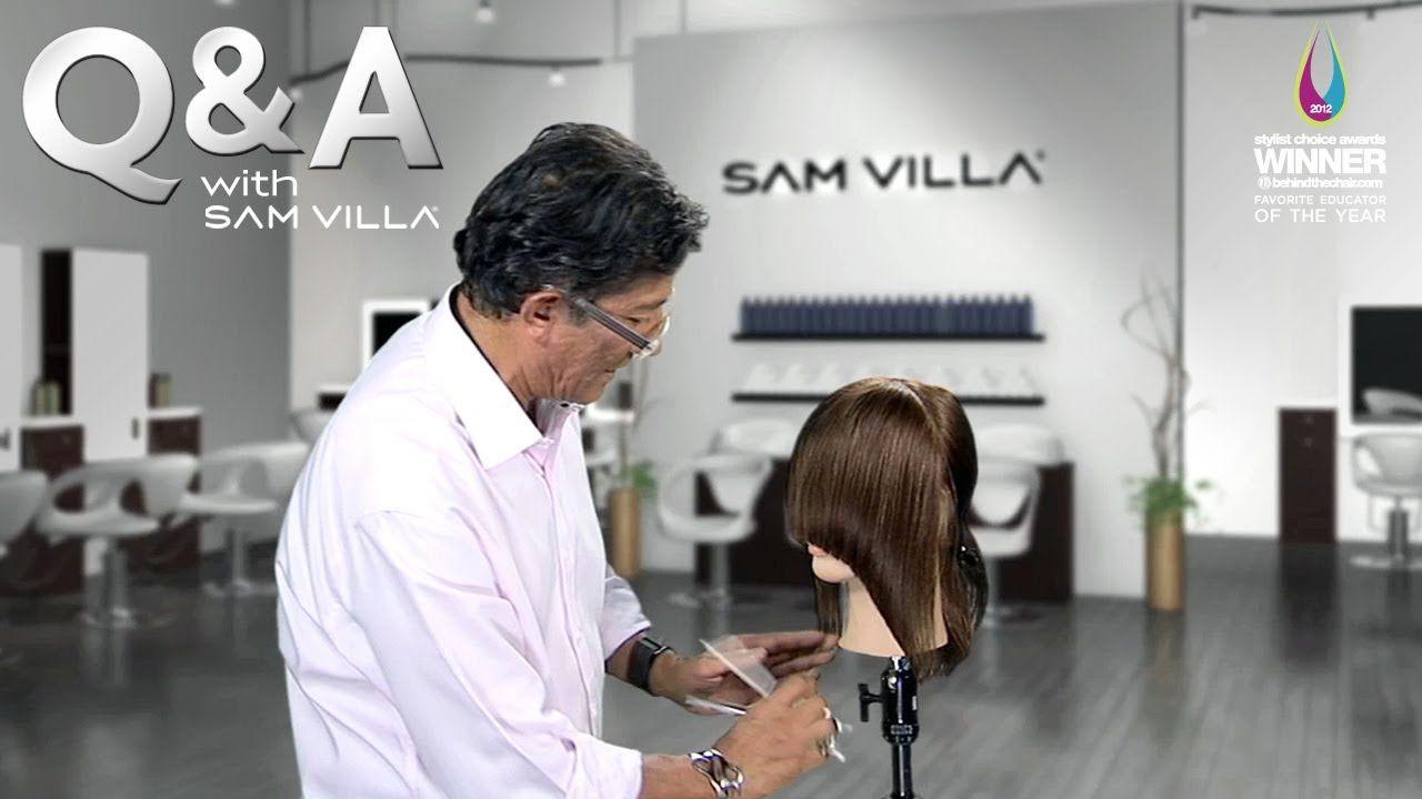Mens haircut tutorials this man is brilliant  how to shape hair uaroundu the face  sam
