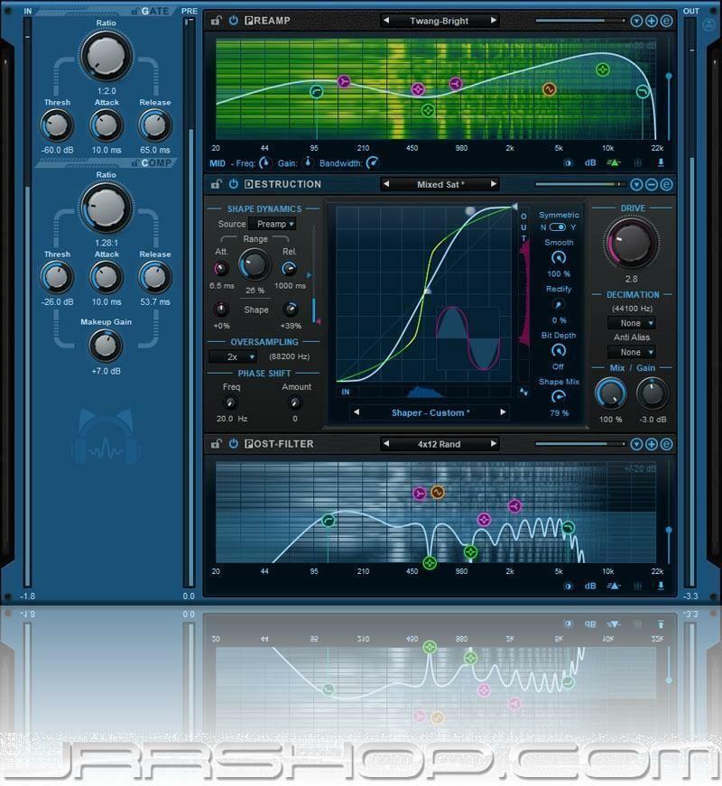 Blue Cat Audio Axiom Guitar Amp + FX Plugin eDelivery JRR