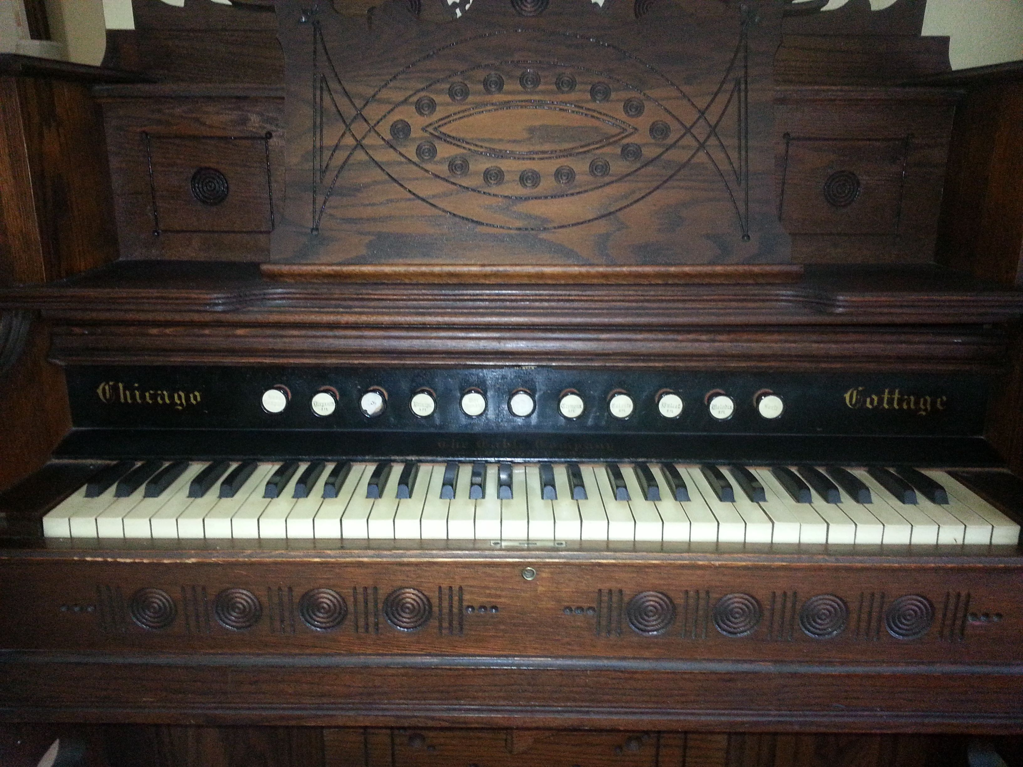 Our Chicago Cottage Pump Organ Pump Organ Piano