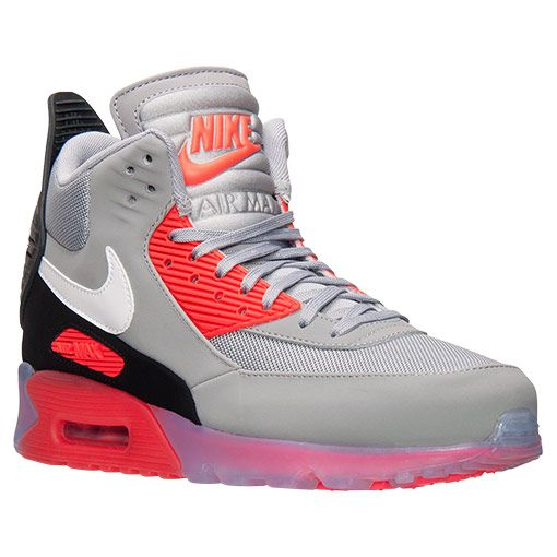 new arrival df1b0 917f7 Men s Nike Air Max 90 Sneakerboot Ice - 684722 006   Finish Line   Wolf  Grey Anthracite Infrared     Not Afraid  The Shady Records Story