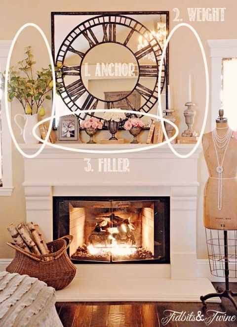 How to decorate a mantel cozy house home decor decor - Decor above fireplace mantel ...