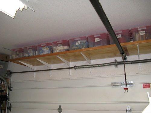 Inexpensive And Funny Organizers To Keep Your Home Clean Garage Hanging Storage Garage Storage Diy Garage Storage