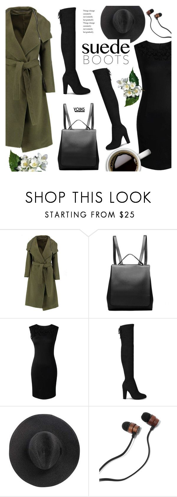 """""""Yoins Suede Boots (#17)"""" by alexandrazeres ❤ liked on Polyvore"""