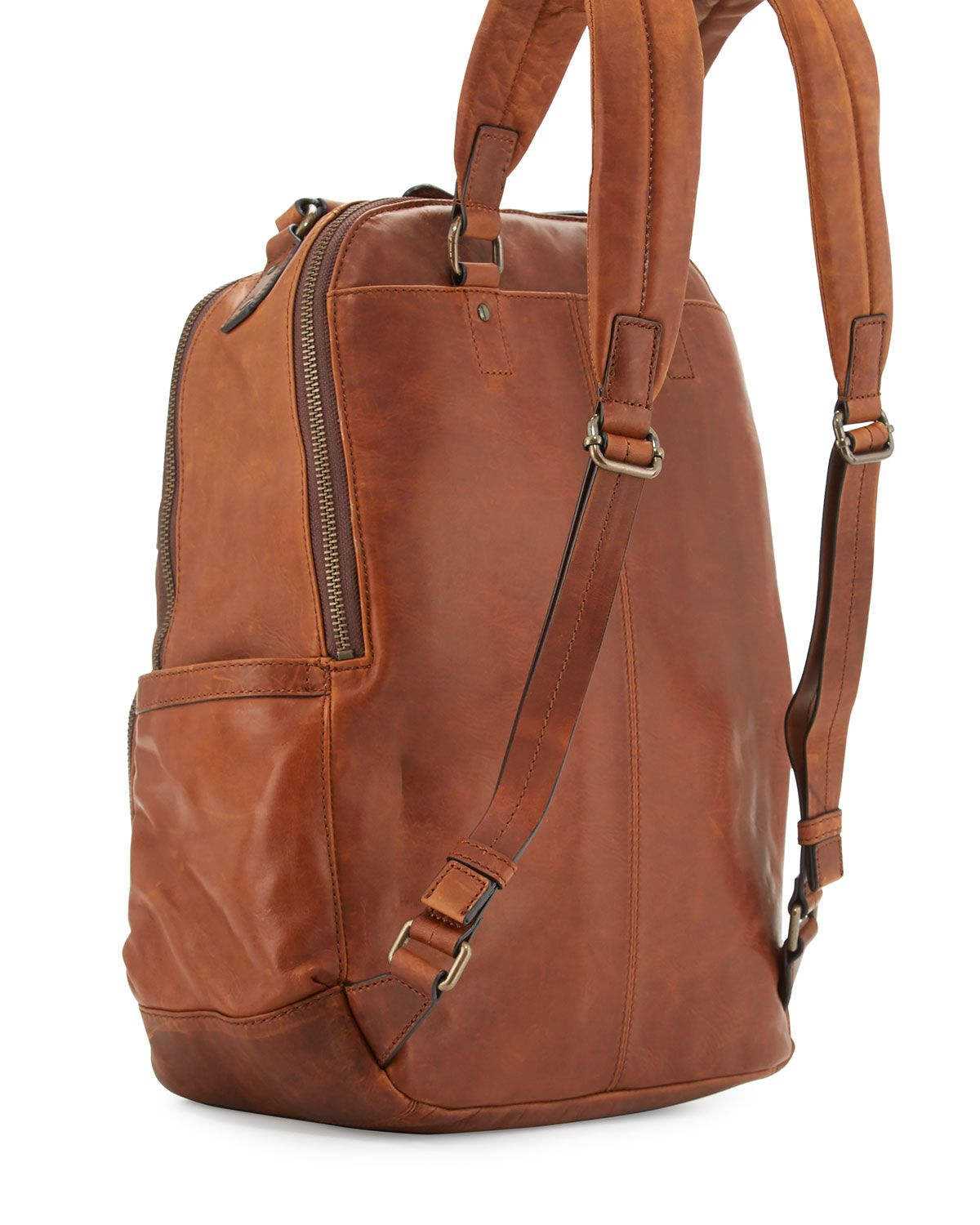 5f7c1c8238a2 Frye Logan Mens Pull-Up Leather Backpack