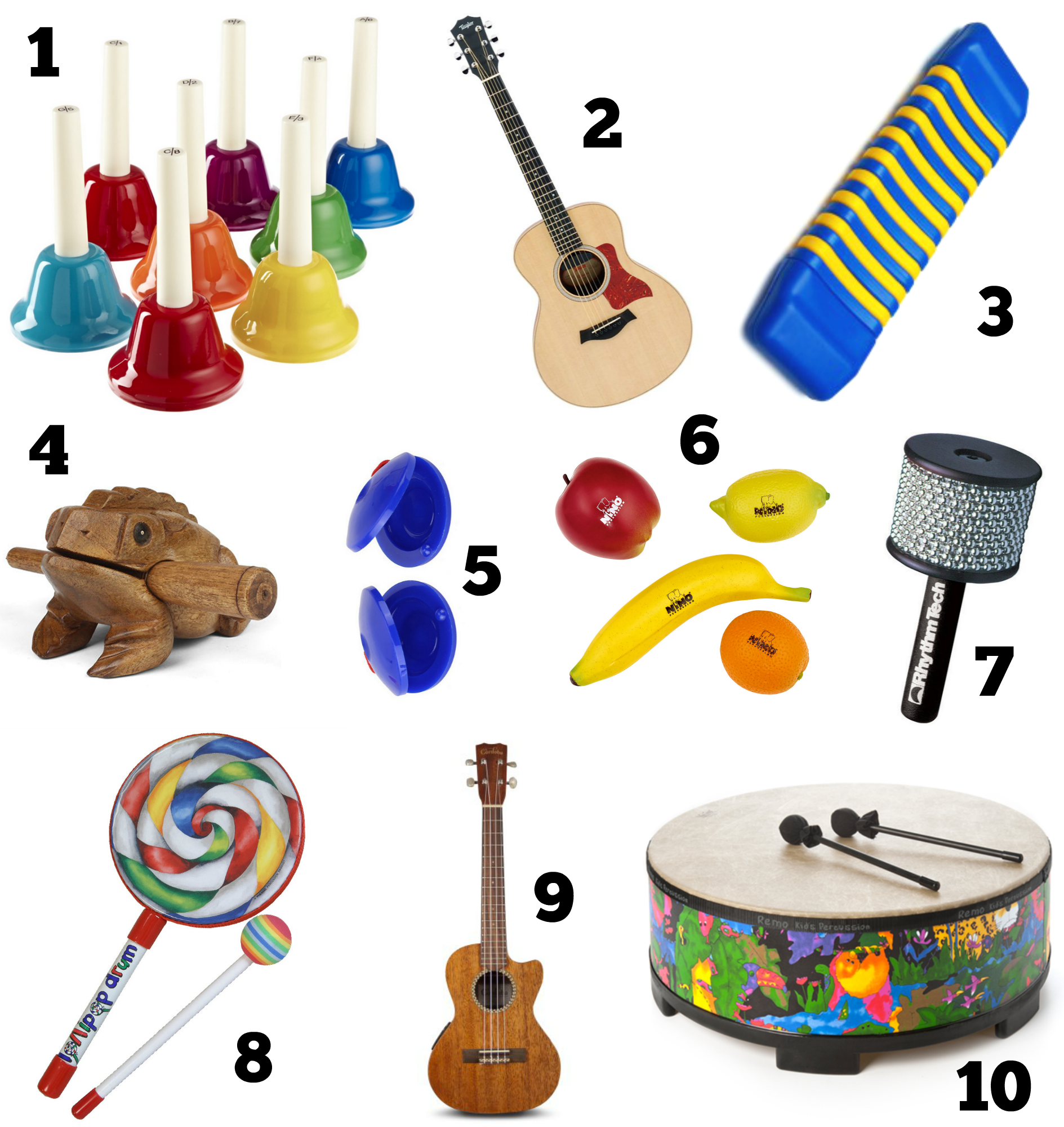 My Top 10 Music Therapy Instruments