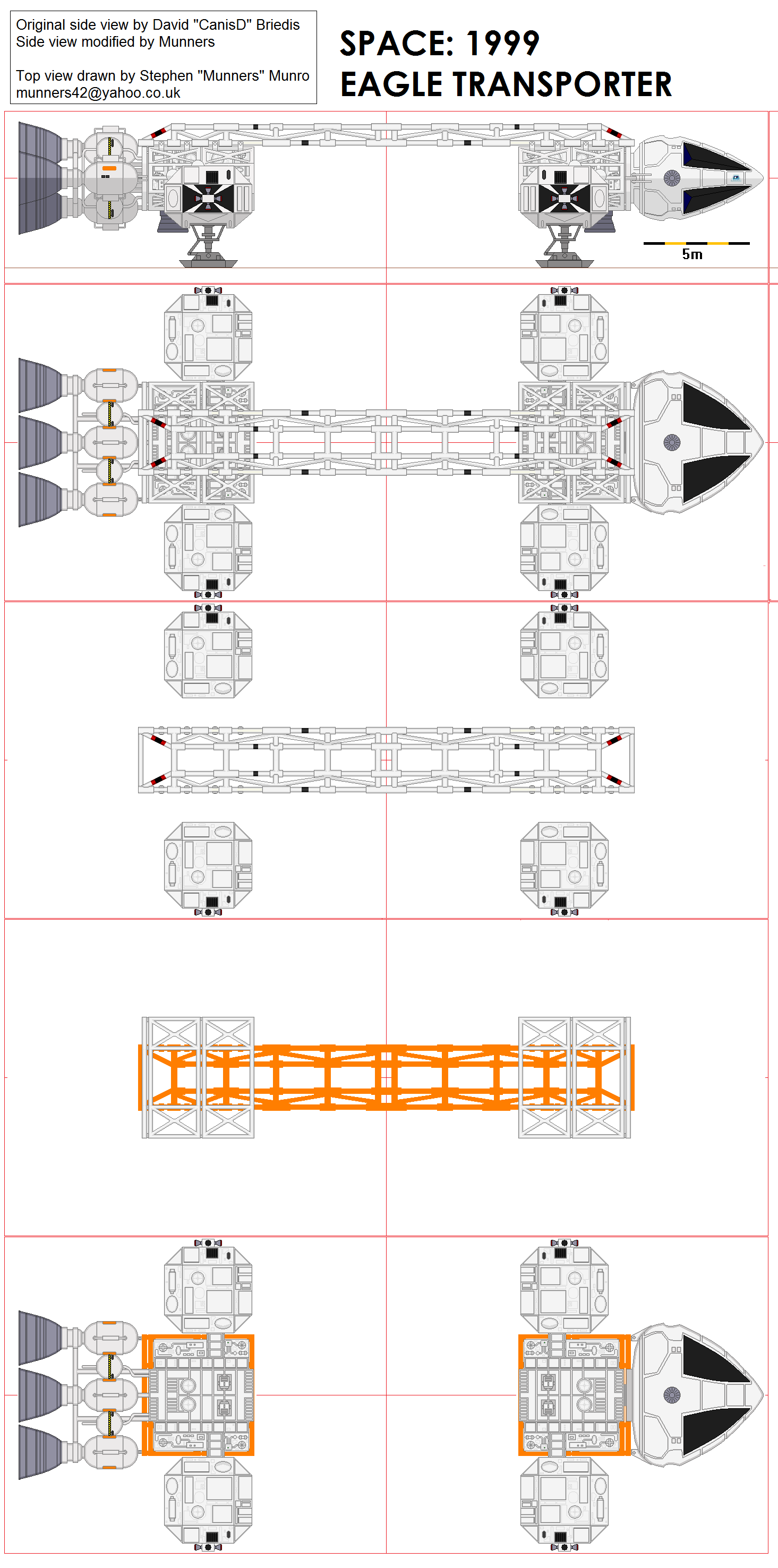 Space 1999 eagle blueprints by keith young detailed and carefully space 1999 eagle blueprints by keith young detailed and carefully researched this schematic shows eagle pod interior as a cross section malvernweather Gallery