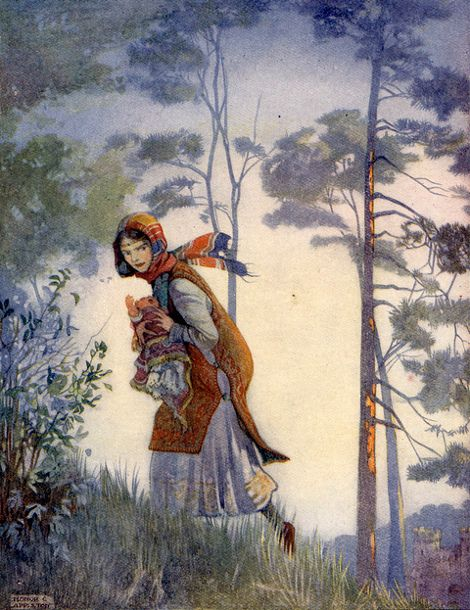 The Stolen Child by Honor C. Appleton (1879 - 1951, English)