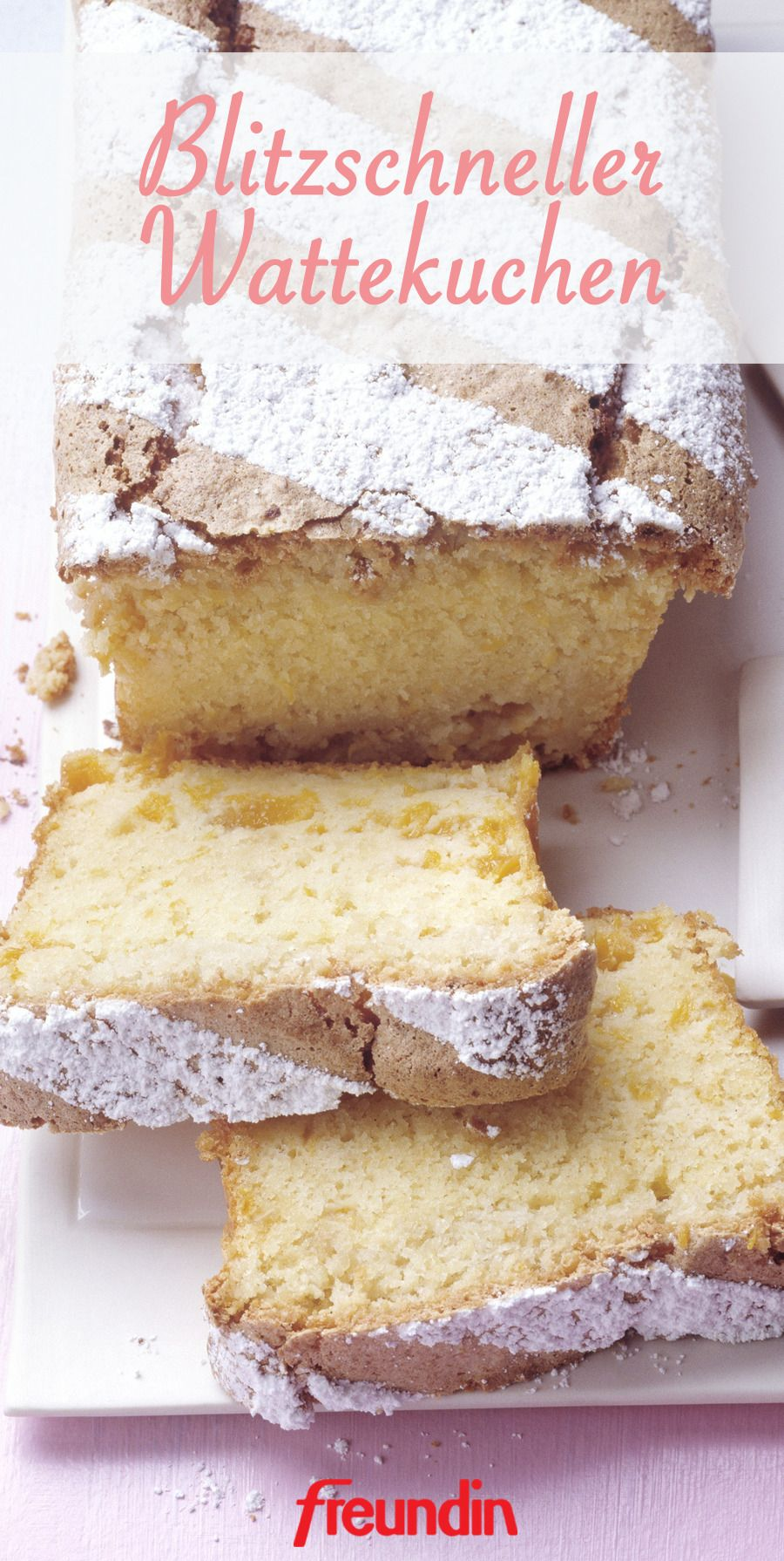 Photo of Recipe: Lightning Fast Cotton Cake | freundin.de