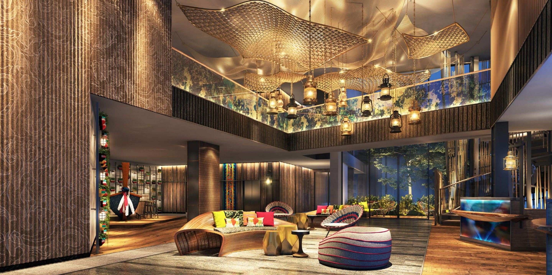Hotel Indigo Phuket Patong Lobby With Images Hotel Lobby