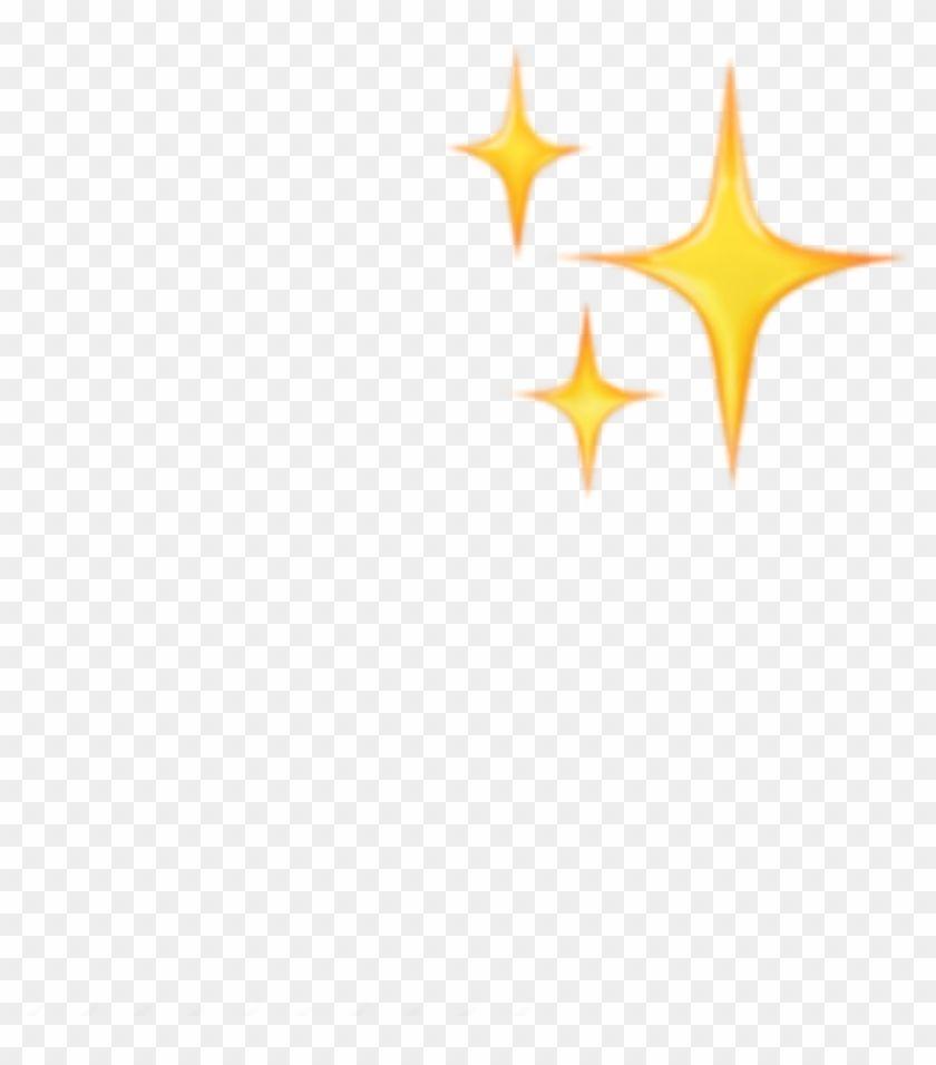Find Hd Sticker Emoji Emojis Yellow Sparkle Stars Tumblr Sparkle Stars Iphone Emoji Png Transparent Png To Search And Downl Sparkle Png Sparkle Emoji Emoji