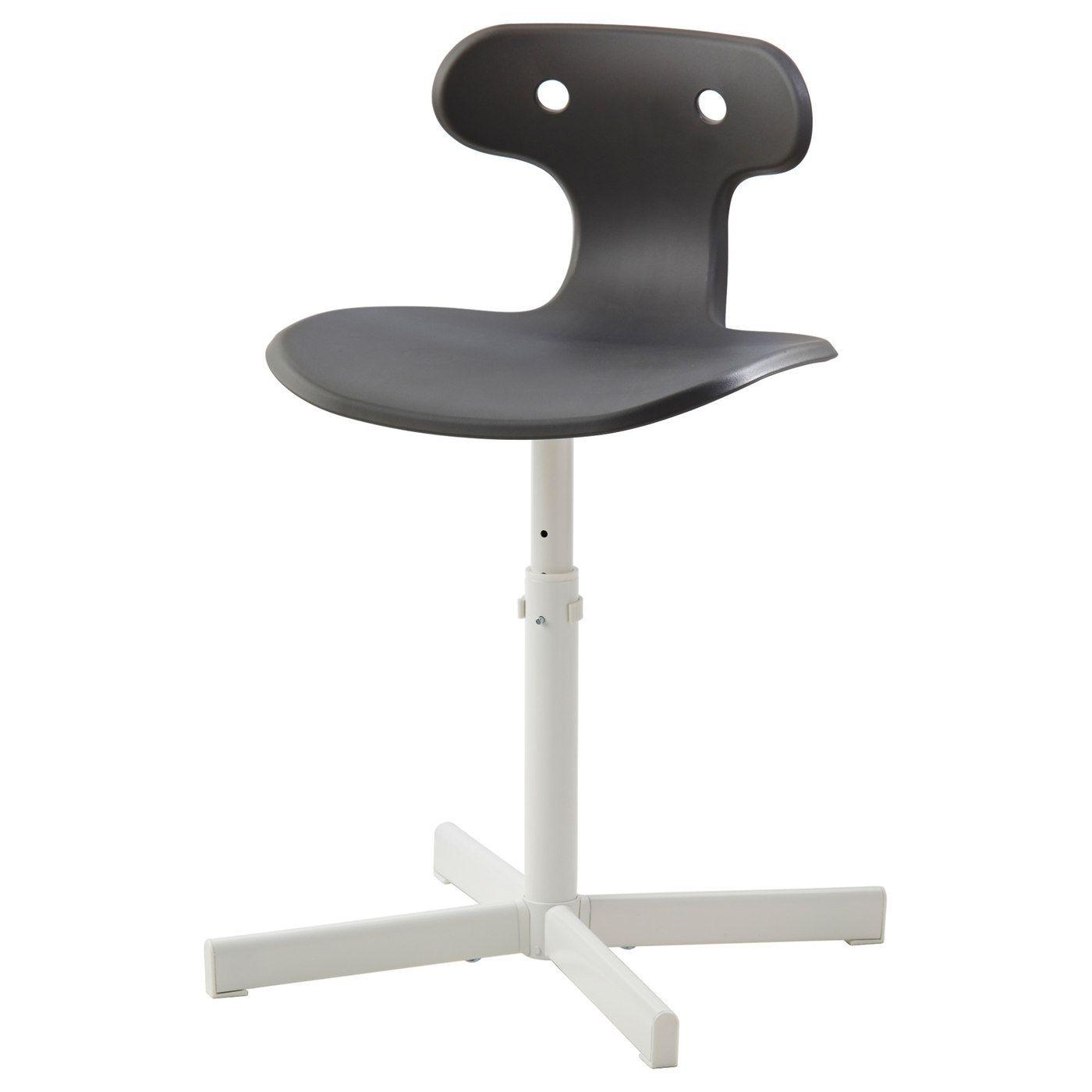 Stuhl Schlafzimmer Ikea: Schreibtischstuhl MOLTE Grau