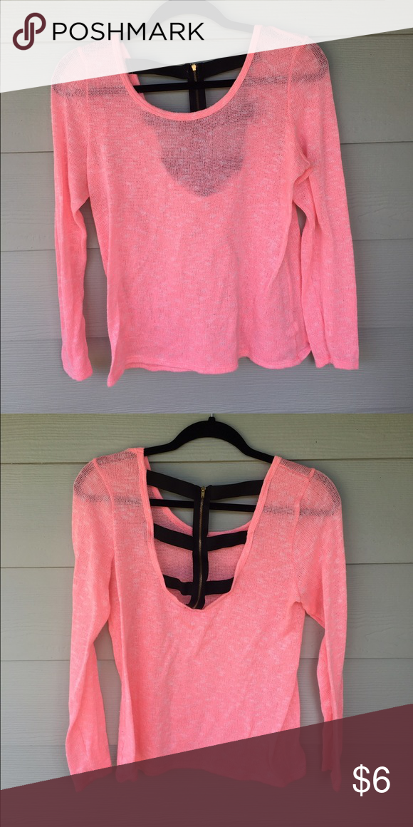 Charlotte Russe sweater Sweater size XL. Super cute back Charlotte Russe Sweaters Crew & Scoop Necks