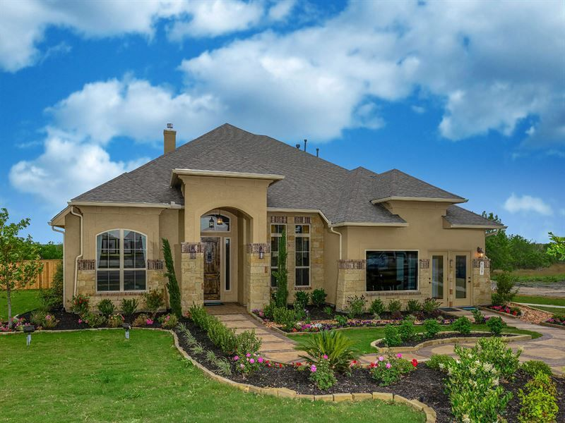 Palo alto single family home floor plan in san antonio tx for Ryland home plans
