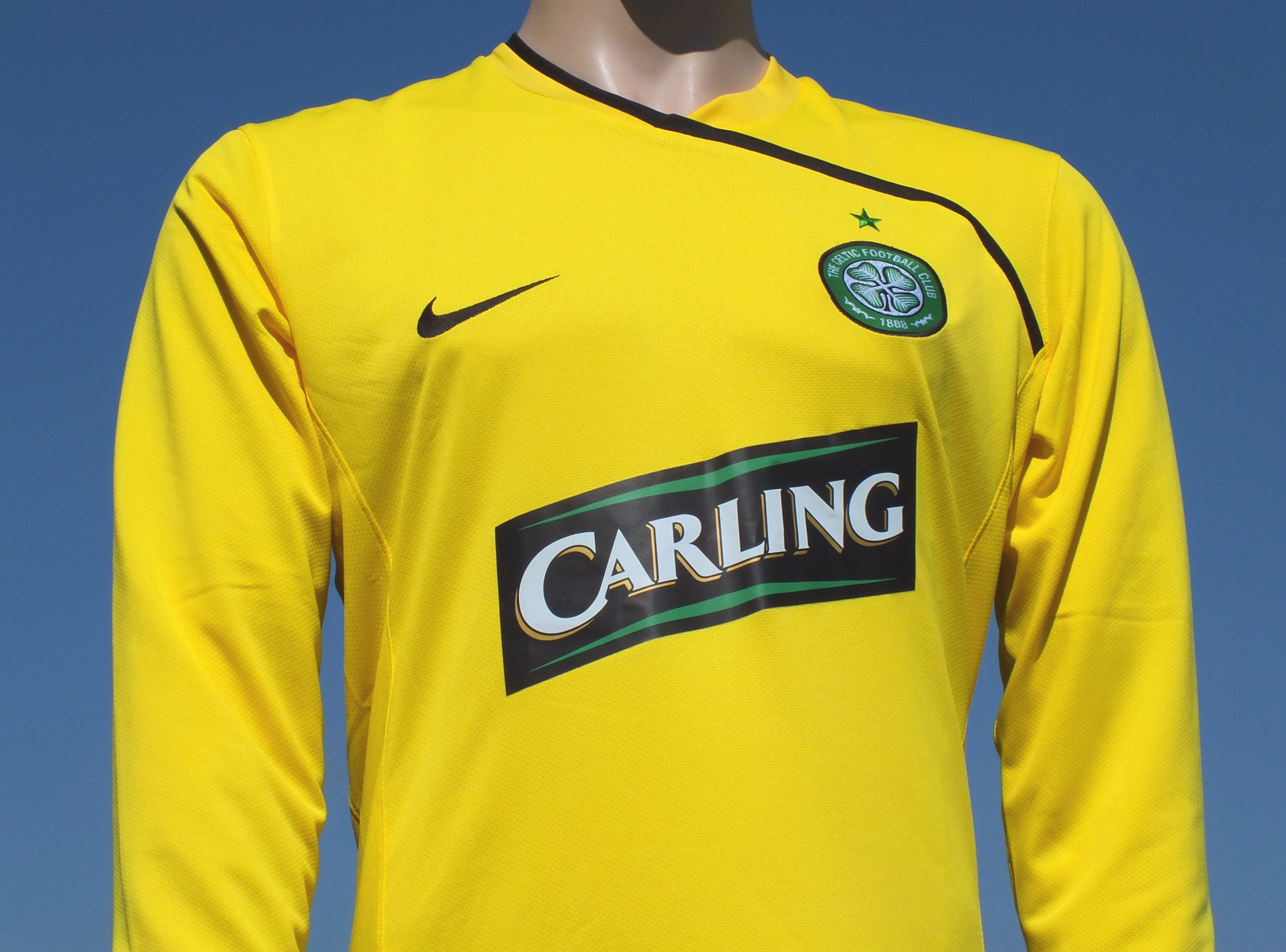 16c6c3196 Celtic F.C. Home Goalkeeper Shirt 2008-2009 Player Issue