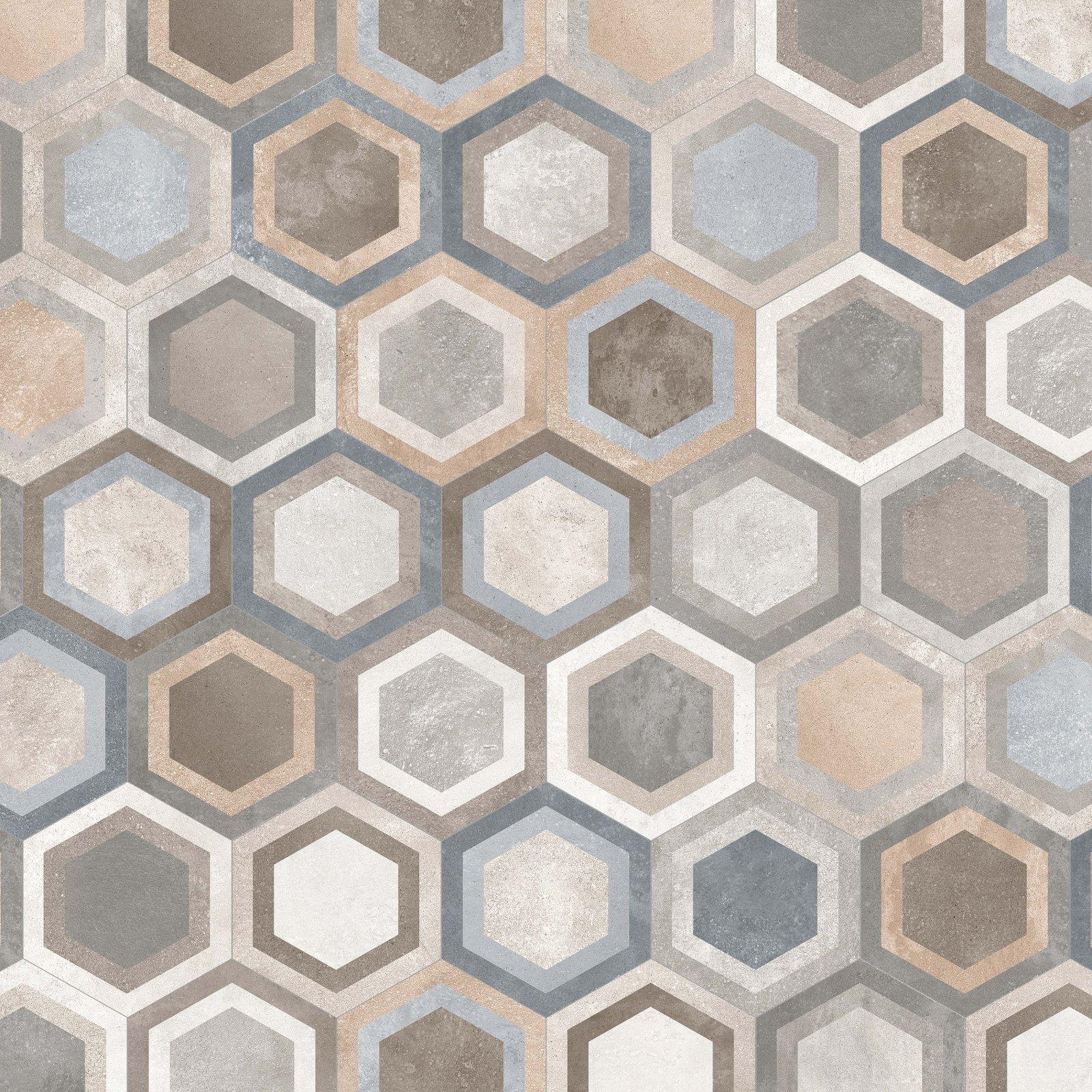 Serie de pavimento Rift en formato 23X26,6 cm., fabricada de ...