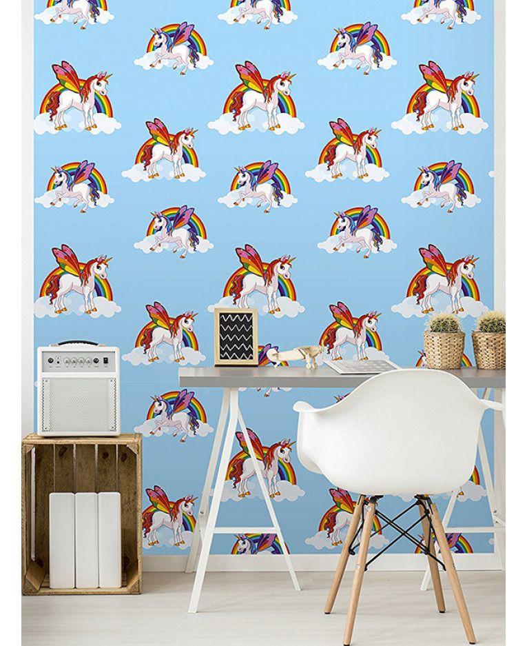Best I Believe In Unicorns Wallpaper Teal Holden 12481 640 x 480