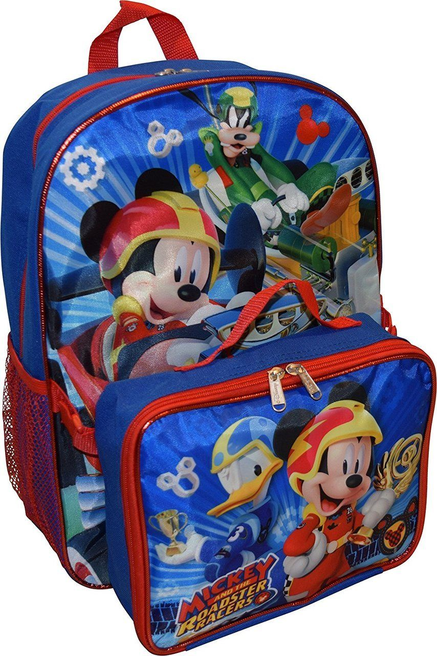 NWT Disney Store Mickey Mouse Backpack School Bag Boys