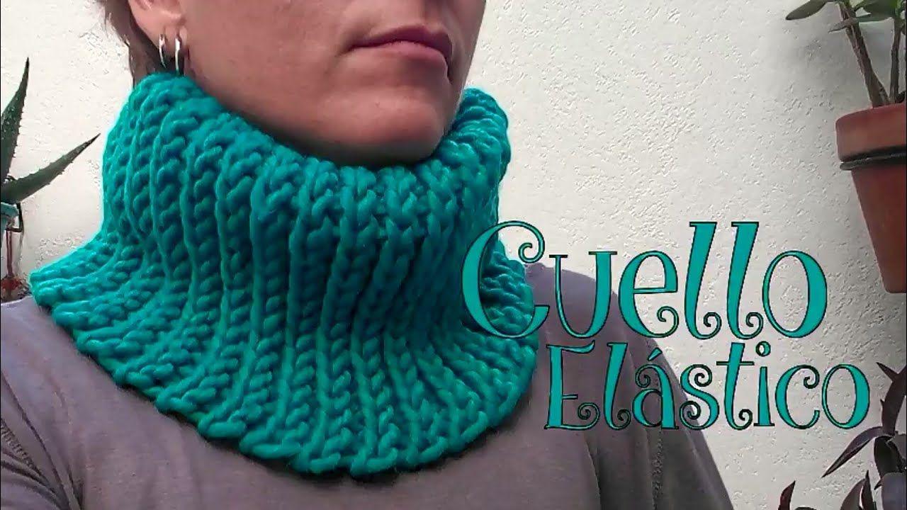 Cuello Elástico a crochet | TEJIDOS PARA IDEAS | Pinterest | Youtube ...