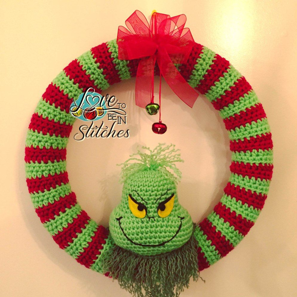 Just in time for christmas i am posting my grinch wreath pattern i am posting my grinch wreath pattern for you to bankloansurffo Image collections