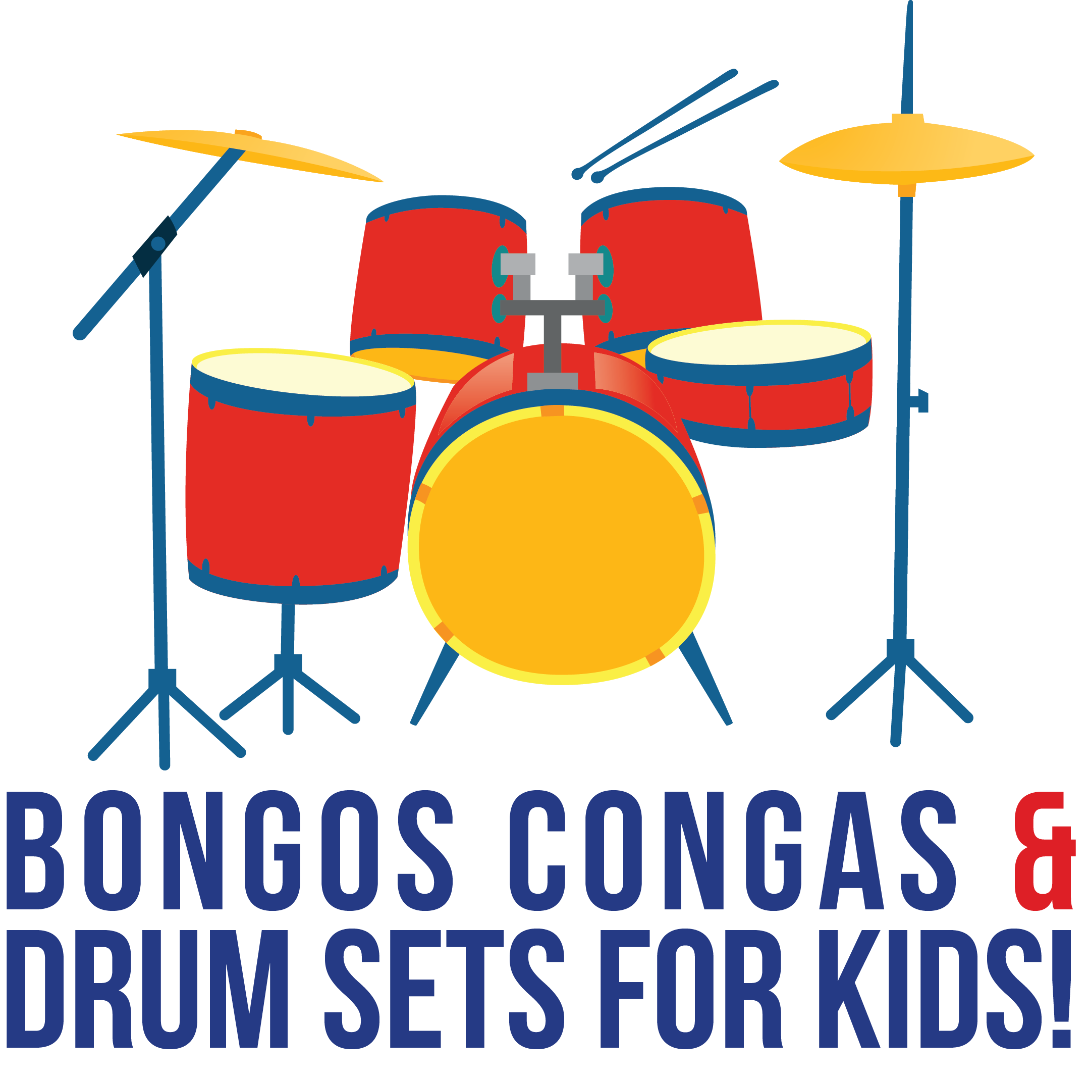 If your kids are interested in playing the drums, getting