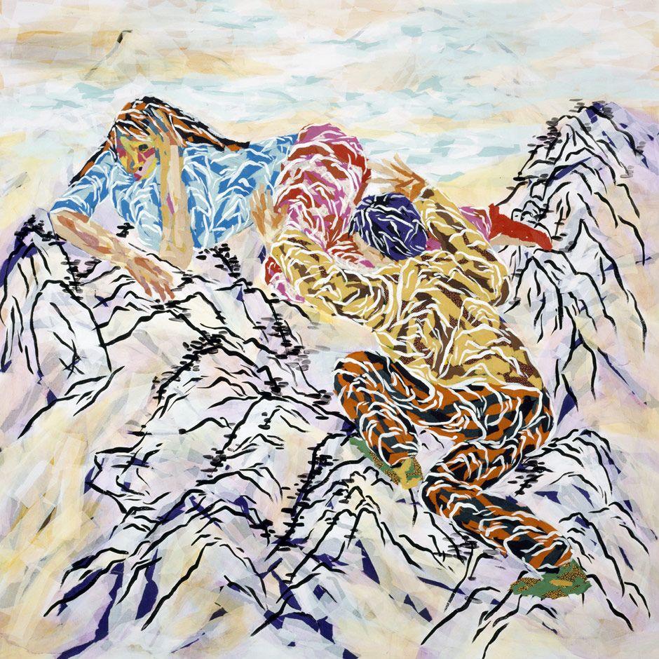 2004-traumberg-und-ich-2-m.            Soe ,Korean Painter
