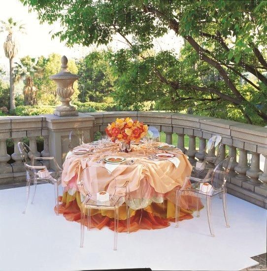Orange | Louis Ghost By Philippe Starck | September Colors.