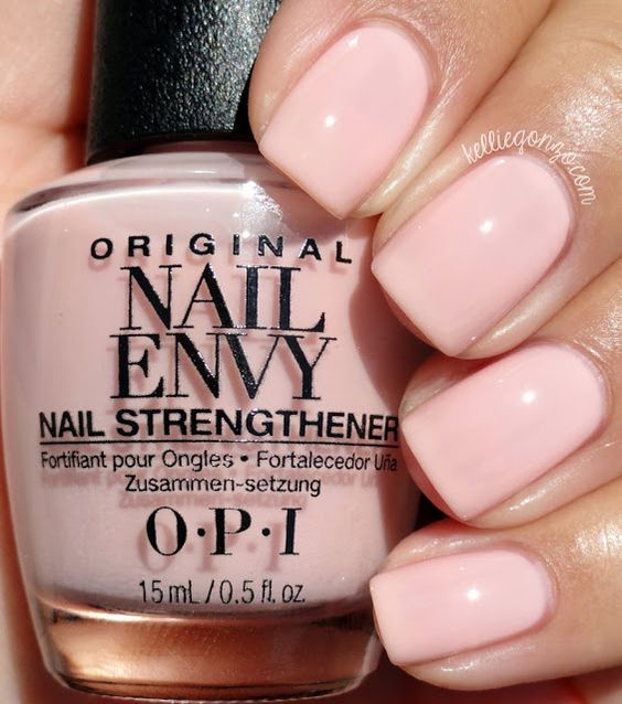 OPI Nail Envy Bubble Bath // kelliegonzo.com | Nail Obsession ...