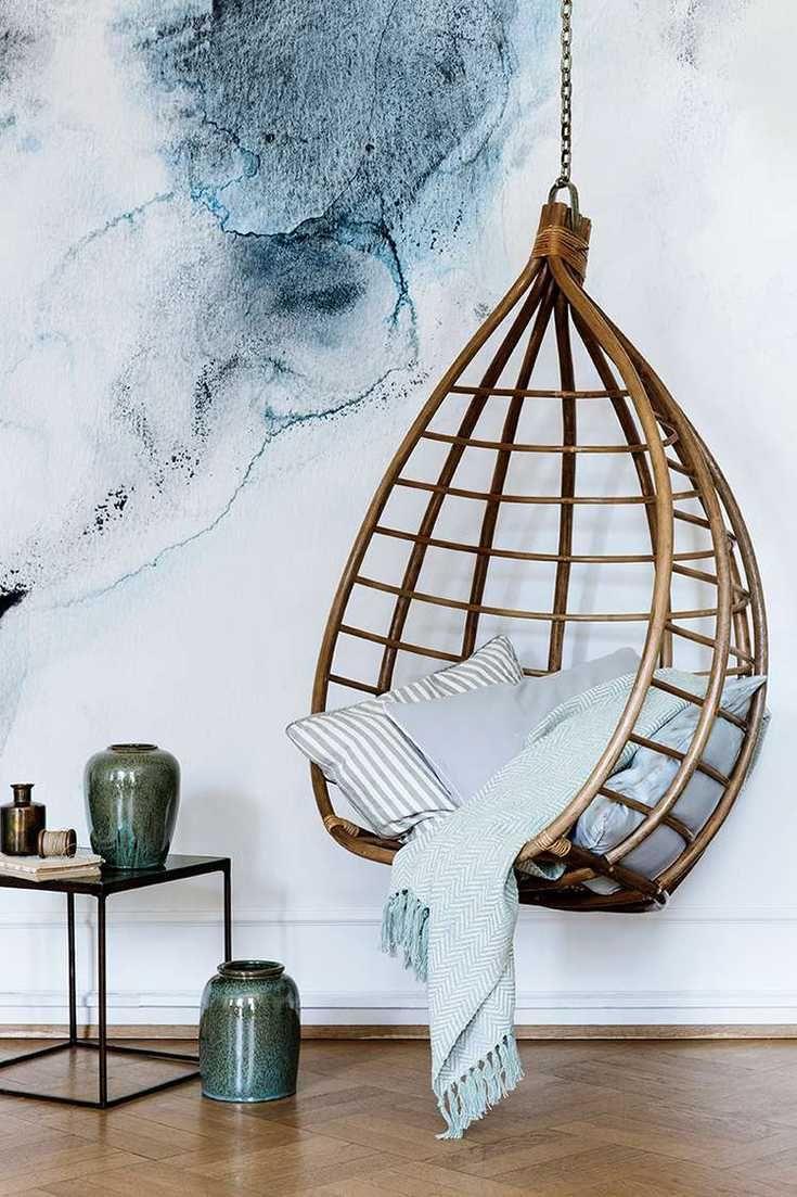 Fauteuil de jardin suspendu en 55 idées de meubles design ...