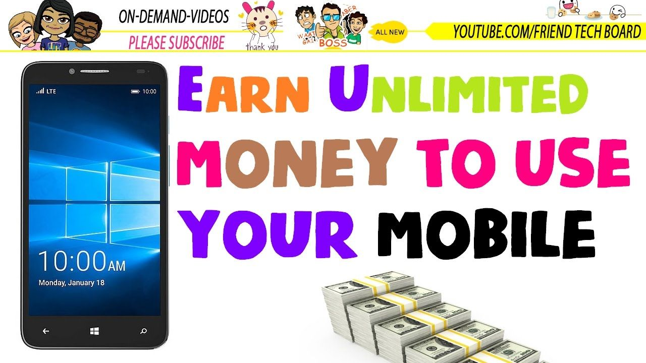 Earn Unlimited Paypal Money To Use Your Mobile Phone