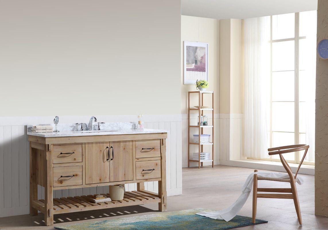 Kordell 55 Single Bathroom Vanity Set Farmhouse Style Bathroom Vanity Single Bathroom Vanity Bathroom Vanity