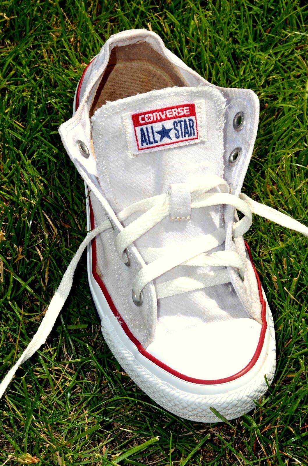 best way to wash white converse