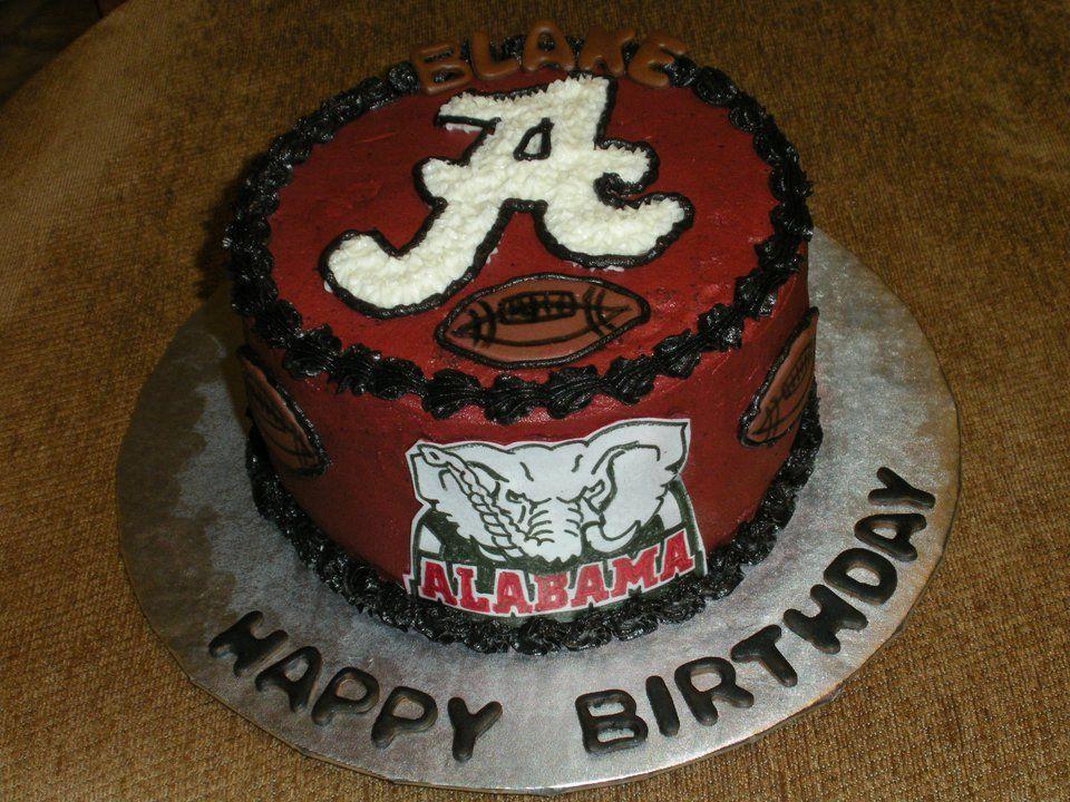 Alabama Football Birthday Cake!