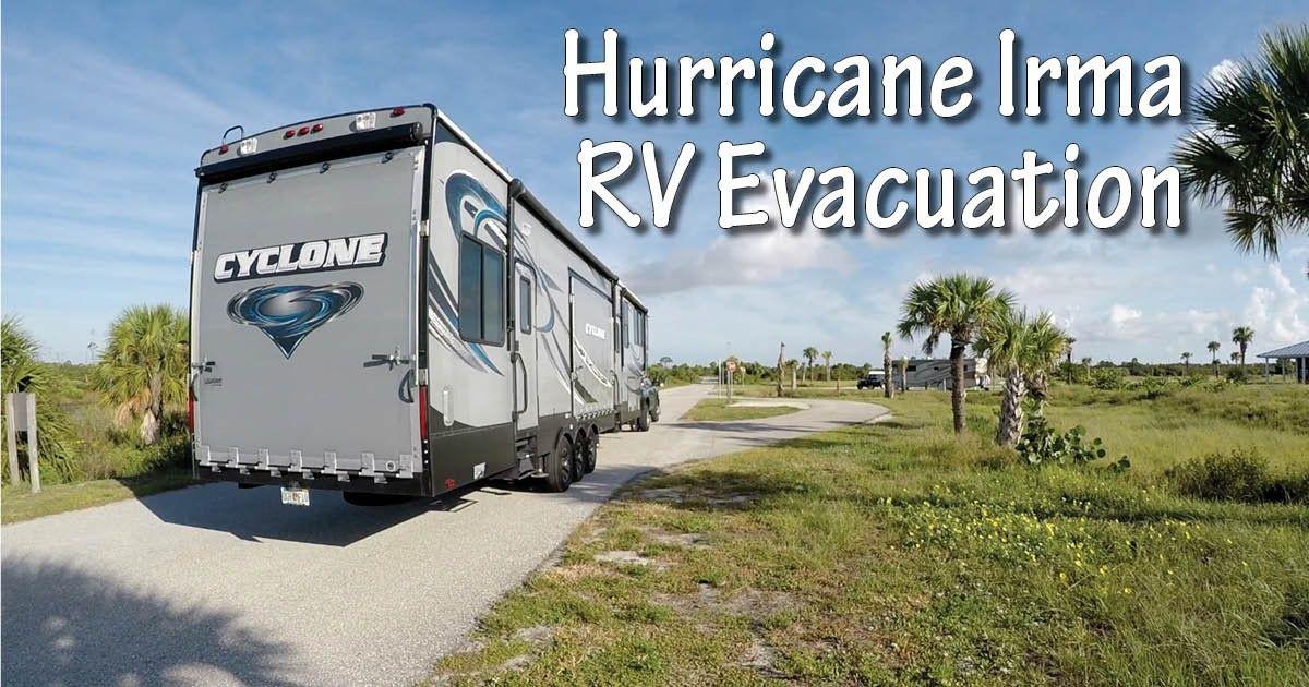 Chickerys travels hurricane irma evacuation story rv