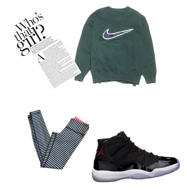 """""""on the way to the gym"""" by kcalhoun2003 ❤ liked on Polyvore featuring beauty, NIKE, lululemon and Freaker"""