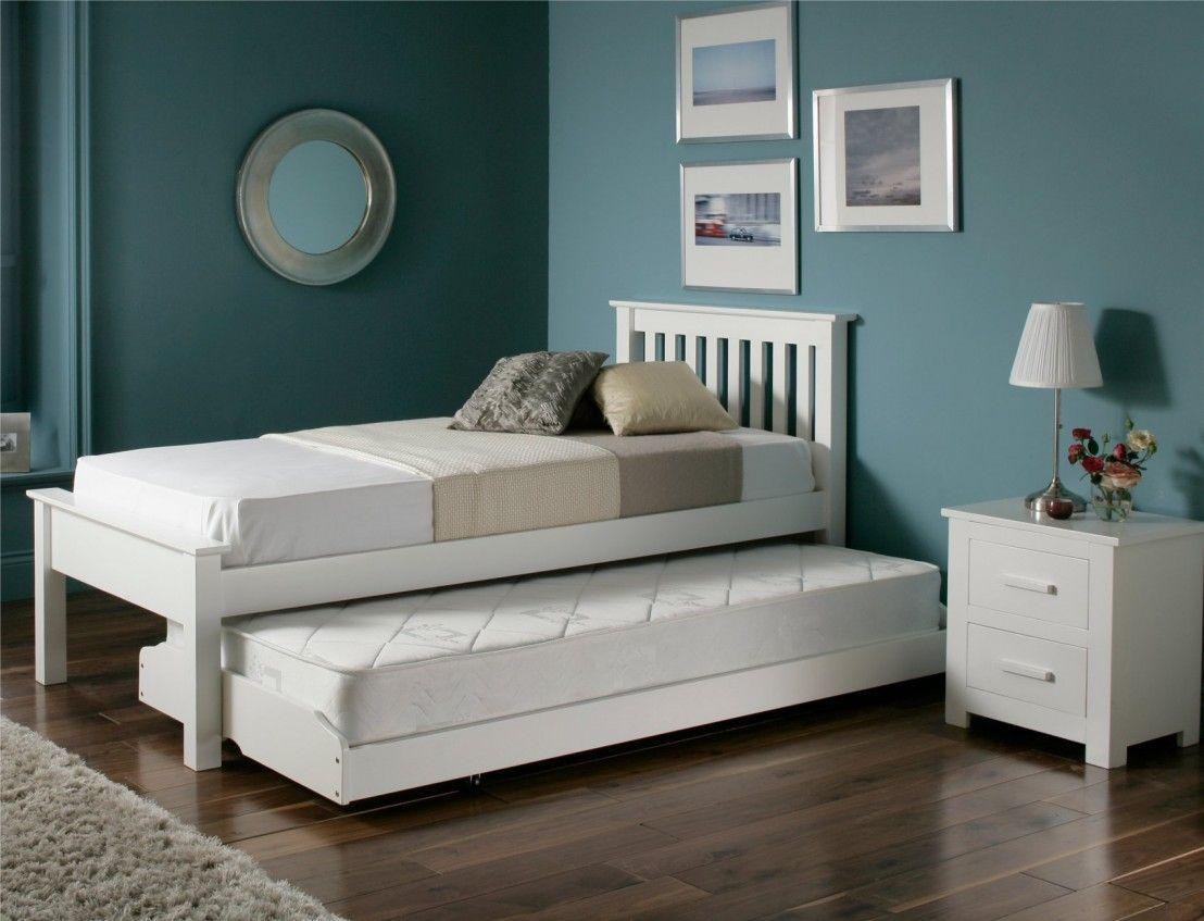 Denver Guest Bed   White   Guest Bed Frame Only