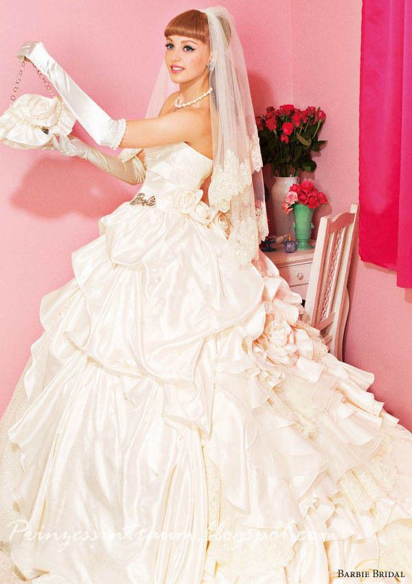 Barbie Brautkleid 2013 | Brautkleider | Pinterest | Barbie bridal ...