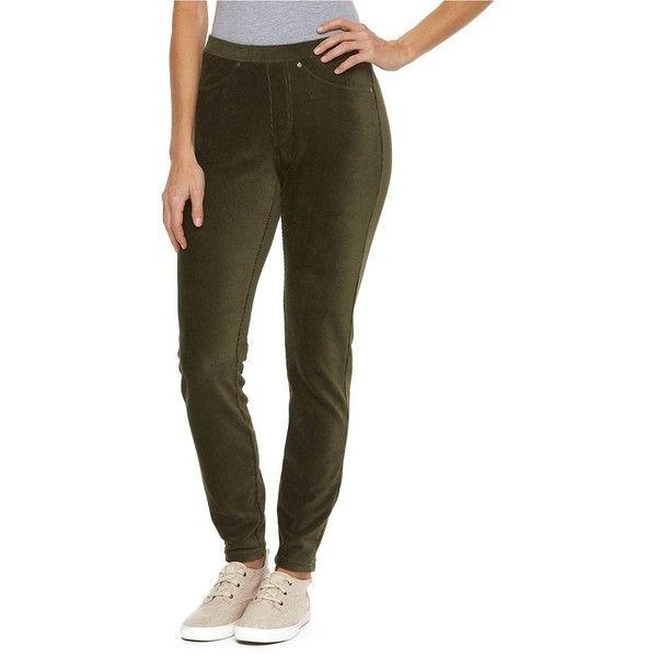 Women's Croft & Barrow® Corduroy Leggings ($25) ❤ liked on ...